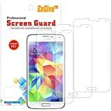 3 x EnGive Ultra Clear Display Displayschutzfolie Schutzfolie Displayschutz Folie für Samsung Galaxy S5 (Galaxy S5 im 3er Set)