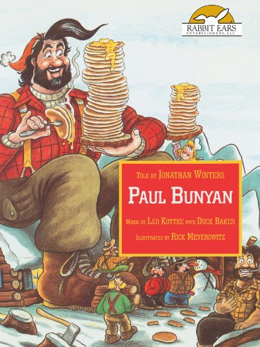 Paul Bunyan, Told by Jonathan Winters, Music by Leo Kottke & Duck Baker
