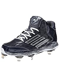 adidas Performance Men's PowerAlley 2 Mid Baseball Cleat