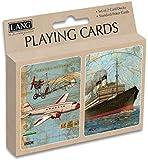 Lang Vintage Travel Playing Cards by Tim Coffey (Set of 2)