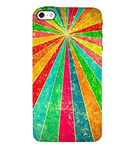 Multiple Color Projection 3D Hard Polycarbonate Designer Back Case Cover for Apple iPhone 5S