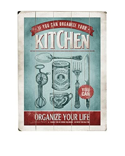 Organize Your Kitchen Wood Wall Décor