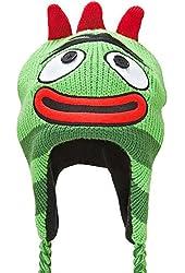 Yo Gabba Gabba - Brobee Big Face Peruvian Knit Hat Green