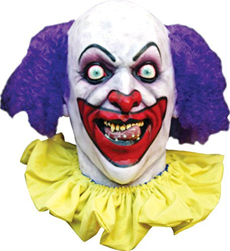 Psycho Lust Circus Clown Scary Latex Adult Halloween Costume Mask