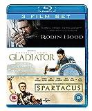 Robin Hood/Gladiator/Spartacus [Blu-ray]