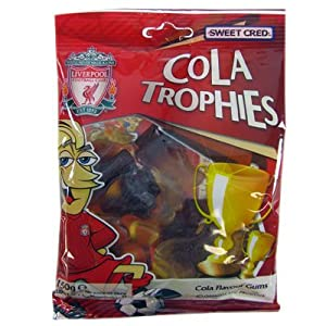 Liverpool FC Cola Trophies - Football Gifts from Official Football Merchandise