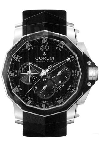 Corum Admirals Cup Chronograph 48 Mens Automatic Watch 753.935.06.0371-AN52