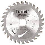 Turner Tools TCT-4''X30 Teeth Wood Cutting Blades