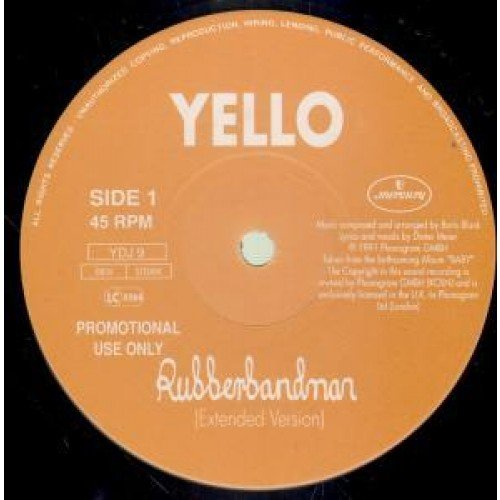 Yello - Rubberbandman - Zortam Music