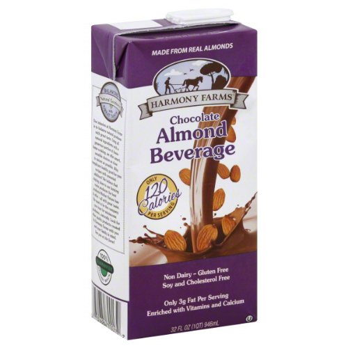 Harmony Farms Almond Chocolate 32 Fo (Pack Of 12)