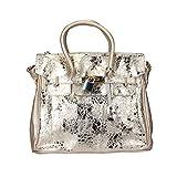 AF Women's Shoulder Handbag Golden PS105