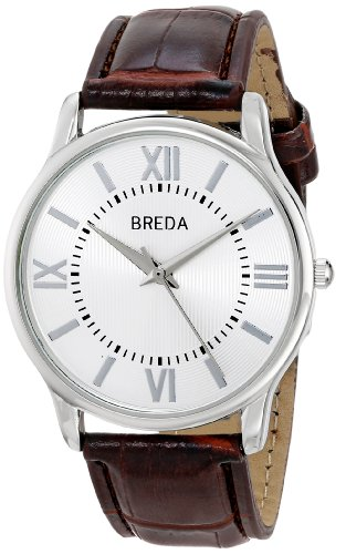 Breda Men'S 8176B Analog Display Quartz Black Watch