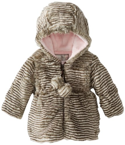 New Widgeon Baby-Girls Infant Hooded Pom Pom Coat