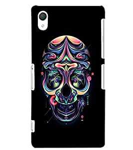 SONY XPERIA Z2 SKULL Back Cover by PRINTSWAG