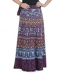 Soundarya Women Cotton Jaipuri Printed Skirt