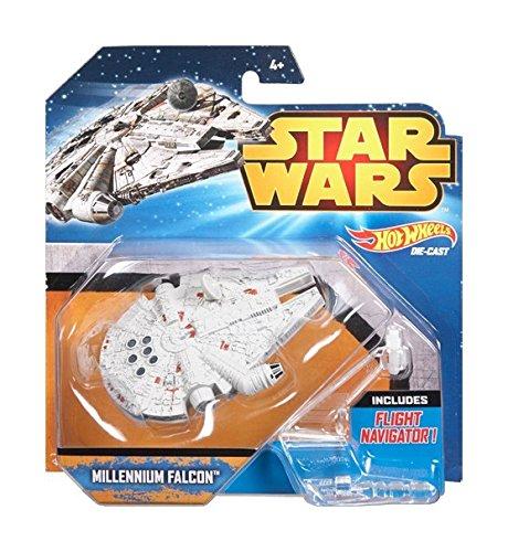 Hot Wheels Star Wars Starship Millenium Falcon Vehicle