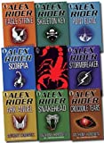 Alex Rider Pack Collection, 9 books, RRP £62.91 (Scorpia Rising, Stormbreaker, Point Blanc, Skeleton Key, Eagle Strike, Scorpia, Ark Angel, Snakehead, Crocodile Tears) (Alex Rider) Anthony Horowitz
