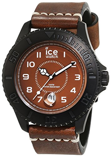Ice-Watch Ice-Heritage -Bronze - big HE.BZ.BM.B.L.14 - Reloj para hombres, correa de cuero color marrón