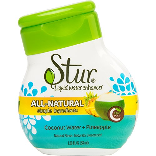 sturr-coconut-and-pineapple-single-bottle-20-servings-makes-over-4-litres-of-drink-all-natural-stevi