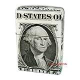 Zippo 1ドル紙幣巻き フロントデザイン 本物1ドル札全面巻き ジッポーライター 【MKN】