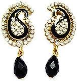 sb fashions black earring