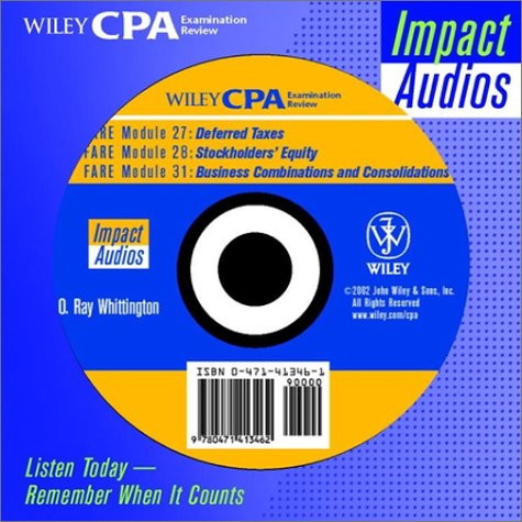Wiley CPA Examination Review Impact Audios, Accounting and Reporting Set (Wiley CPA Examination Review Impact Audios: Listen Today, Remember When It Counts)