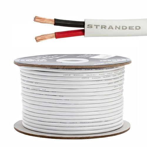 Speaker Wire For In Wall Installation 12Awg/2C - 250 Feet High Quality