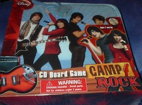 Cardinal Industries Camp Rock CD Board Game