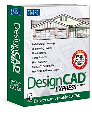 IMSI DesignCAD Express Version 16