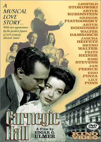 Carnegie Hall [DVD] [1947] [Region 1] [US Import] [NTSC]