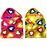 Casa Confort Single Baby Blanket In Multi-Colour(CC_BB_73)
