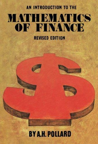 Eine Einführung in die Mathematik der Finanzen