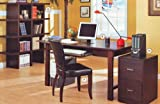 Home Office Desk 2 Piece Set By Coaster Furniture