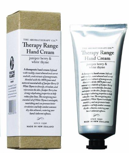 Aromatherapy company Therapy Range therapies range nourishing hand cream Juniper Berry-0 - white time