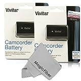 (2 Pack) Vivitar NP-FV70 Ultra