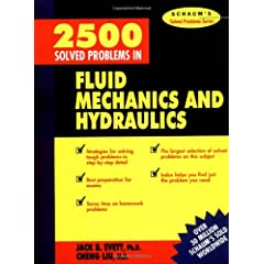 2500 Solved Problems in Fluid Mechanics & Hydraulics - Jack Evett, Cheng Liu