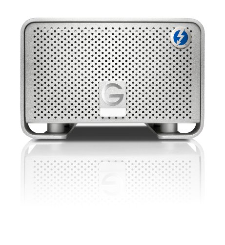 G-Technology G-Raid 8Tb Dual Thunderbolt Ports For Powerful Data Transfer, Silver (0G02272)