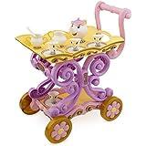 Disneys Princess Belle Enchanted Talking Tea Cart Mrs. Potts and Chip