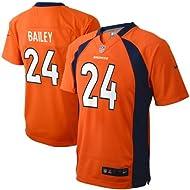 Champ Bailey Denver Broncos Orange NFL Kids NIKE Replica Jersey