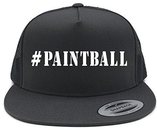 Diva Joy #paintball (HASHTAG) CAPS Black Flat Brim Snapback Baseball Trucker Hat (Paintball Merchandise compare prices)