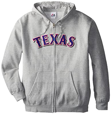 MLB Texas Rangers Shut Out Fleece, Steel Heather