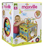 ALEX® Toys - Alex Jr. Max Ville - Wooden Activity Cube 4MV from Alex
