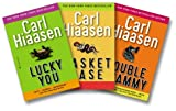 Carl Hiassen's South Florida Three-Book Set #2 (Lucky You, Basket Case, Double Whammy)