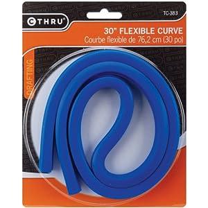 C-Thru 30-Inch Flexible Curved Ruler
