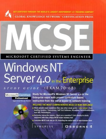 MCSE Windows NT Server 4.0 in the Enterprise Study Guide (Exam 70-68)