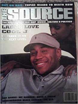The Source Magazine December 1995 LL Cool J Cover Story ...