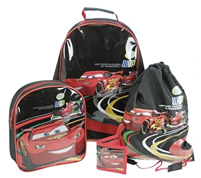 4pcs Disney Cars 2 Trolley Wheeled Bag Luggage Set  by DISNEY CARS 2