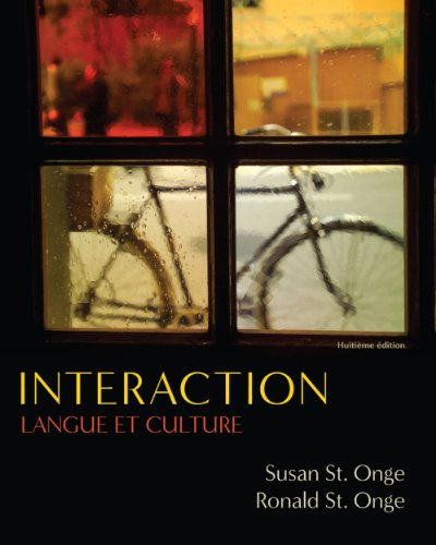 Answer Key with SAM Audio Script for St. Onge/St. Onge's Interaction