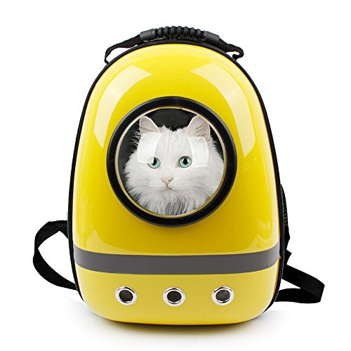 Innovative Patent Bubble Pet Carriers Traveler Bubble Backpack Pet Carrier for Cats and Dogs, Outdoor Travel Mesh Pup Pack for Pet