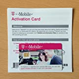 T-Mobile Micro SIM Card Activation Kit (Initial $3.34 Value) - New